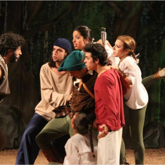 """Valeria en el Musical """"Robin Hood"""""""
